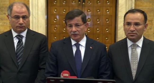 Davutoğlu: Hedef sadece tahir elçi değil tüm türkiyedir