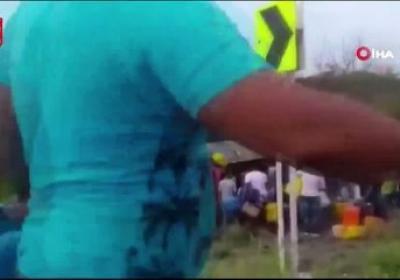 Kolombiya'da petrol tankeri faciası: 7 ölü, 40 yaralı!