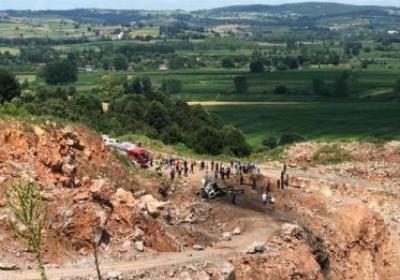 Sakarya'daki patlamada olay yerinden görüntüler