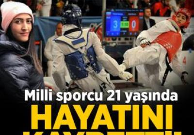 Milli sporcu Gamze Özdemir 21 yaşında hayatını kaybetti