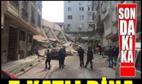Son Dakika! Daha önce boşaltılan bina çöktü, enkaz altında çok sayıda araç var
