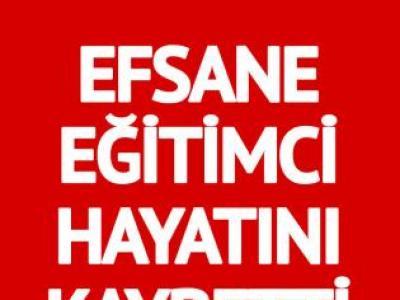 Efsane eğitimci Erdoğan Toker hayatını kaybetti
