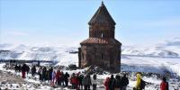 'Orta Çağ'ın hoşgörü kenti Ani' çetin kışta da ilgi görüyor