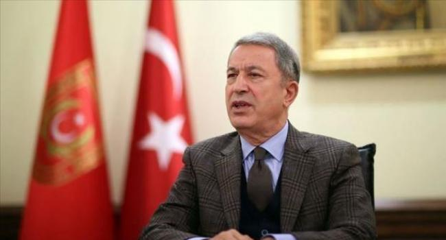 Bakan Akar: Bizim için bütün mesele rejimin ateşkese uyması