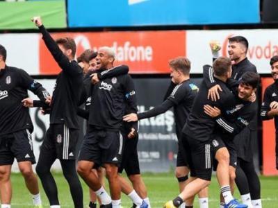 Beşiktaş Takımında Welinton'un Büyük Sevinci